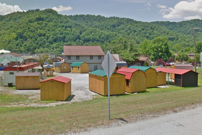 Sheds for sale in Harlan