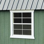 LP SmartSide Storage Shed with 3x3 Windows
