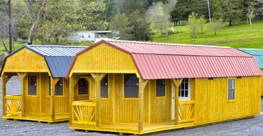 Cabins with porches for sale