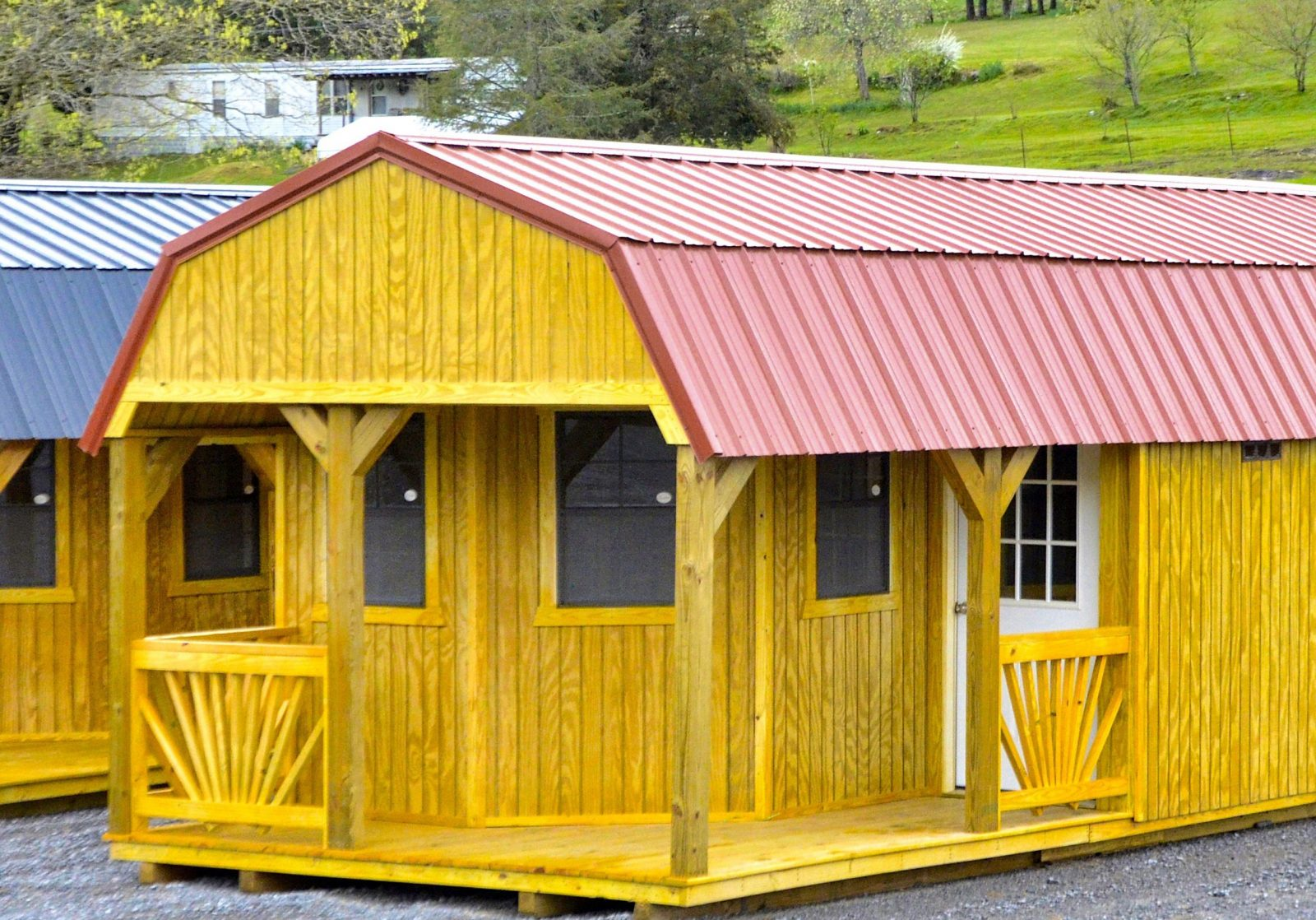 Deluxe Lofted Barn Cabin for Sale   Move In To This ...