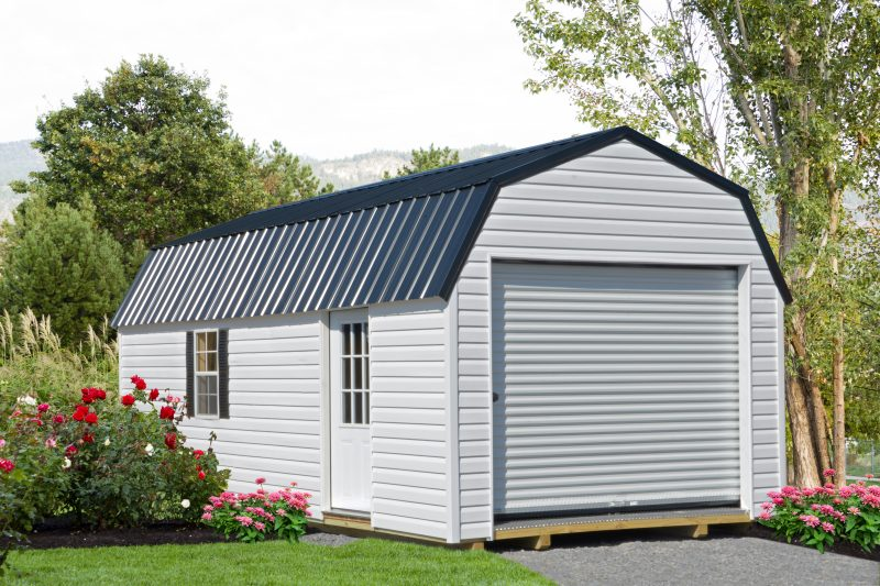 vinyl-lofted-garage-for-sale