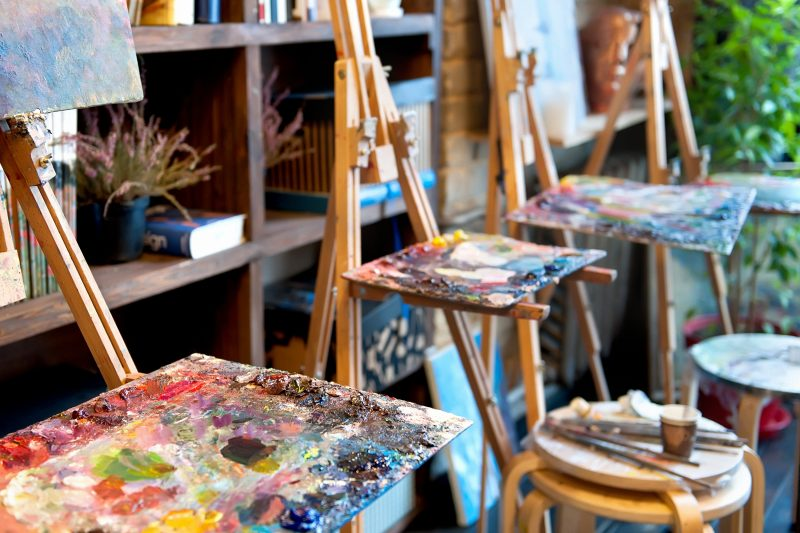 Office shed art studio