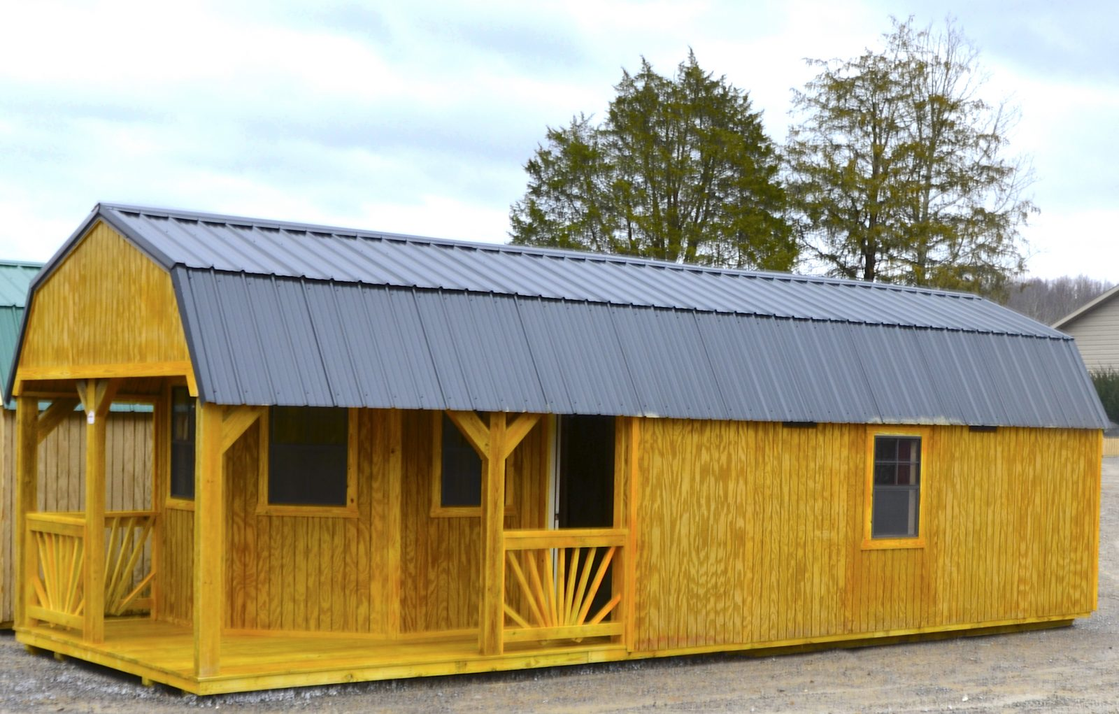 Deluxe Lofted Barn Cabin For Sale Move In To This