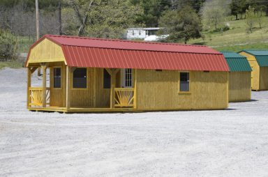 deluxe lofted barn cabin for sale in va