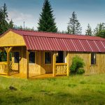 The Lofted Cabin With Porch